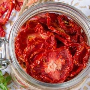 Semi Dried Tomato Strips