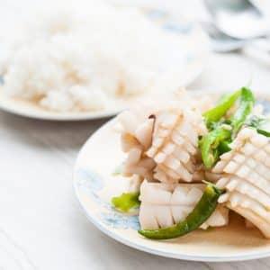 Pineapple Cut Squid