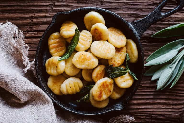 Gnocchi with Burnt Sage Butter